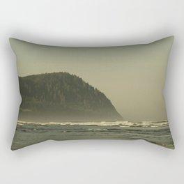 The Oregon Coast Rectangular Pillow