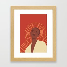 Emit Framed Art Print