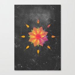 Mandala Tame Impala Canvas Print