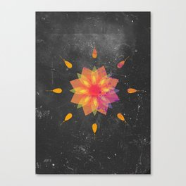 Mandala Tame Impala Canvas Print