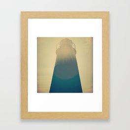 Literal Lighthouse Framed Art Print