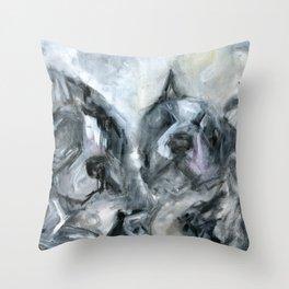 My boys Throw Pillow