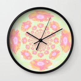 Poppy power Wall Clock