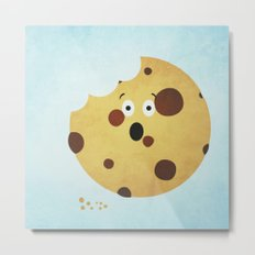 How the Cookie Crumbles Metal Print