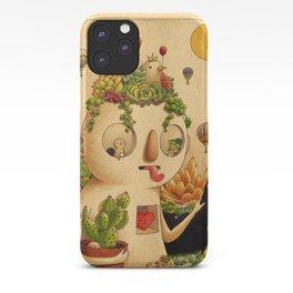 Succulent Man iPhone Case