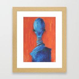 Nobody Framed Art Print