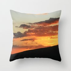 Into the dark Throw Pillow