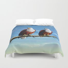 Friends Hanging out Duvet Cover