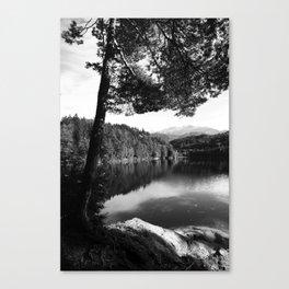 Hechtsee - See in den Brandenberger Alpen in Tirol Canvas Print