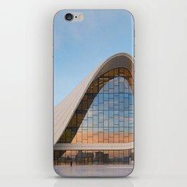 Zaha H A D I D   architect   Heydar Aliyev Center iPhone Skin