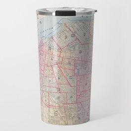 Vintage Map of Buffalo NY (1915) Travel Mug