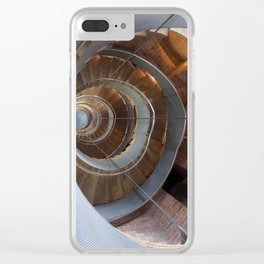 Mackintosh Building Clear iPhone Case