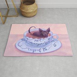 Not Everone's Cup Of Tea - Sphynx Cat - Part 2 Rug