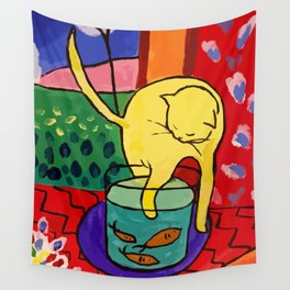 Henri Matisse The Cat With Red Fish, Wall Tapestry