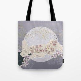 Cherry moon Tote Bag