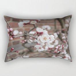 Cherry Blossoms at Mount Vernon Rectangular Pillow