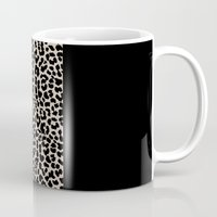 the national Mugs featuring Leopard National Flag IV by M Studio