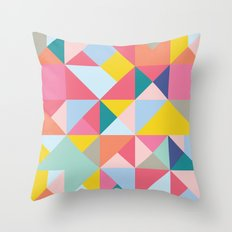Geometric Dreaming Throw Pillow
