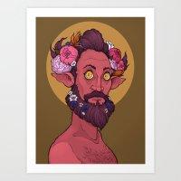 Goddamn hipster boys Art Print