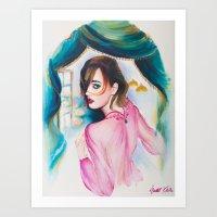Rawan  Art Print