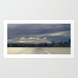 Seattle Skyline - 2005 Art Print