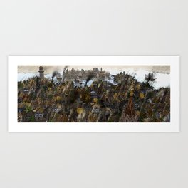 Northern Harbour Overview Art Print