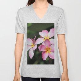 Hawaiian Flower Unisex V-Neck
