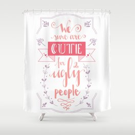 Lettering - Juno Shower Curtain