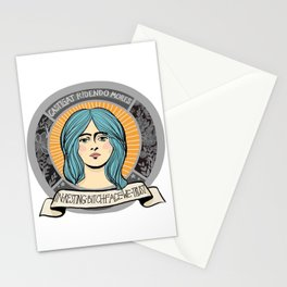 In Resting Bitch Face We Trust Stationery Cards