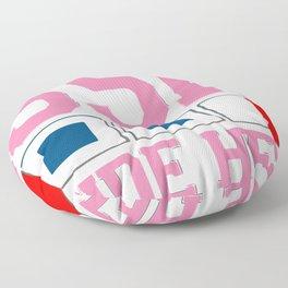 Seaside Heights - New Jersey. Floor Pillow
