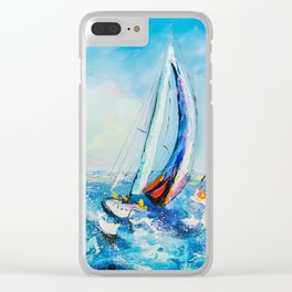 Regatta Clear iPhone Case