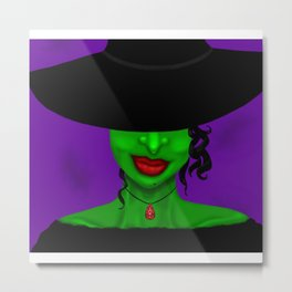 Be...Witchy Metal Print