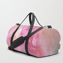 Baroque Painted Roses Duffle Bag