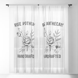 Rose Apothecary - Schitts Creek - Ew David - David Rose Sheer Curtain
