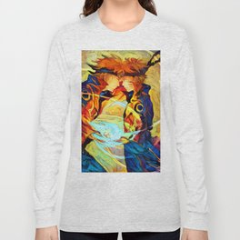 Yellow Flash of the Leaf Long Sleeve T-shirt