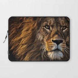 12,000pixel - 500dpi, High Quality Photograph - Lion King II Laptop Sleeve