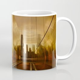 Sunrise at Empty Sky Memorial NYC Coffee Mug