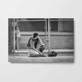 Catcher in Thought Metal Print