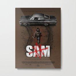 Sam Metal Print