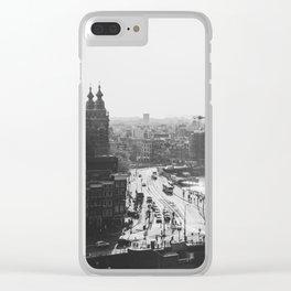 Amsterdam Transit Clear iPhone Case