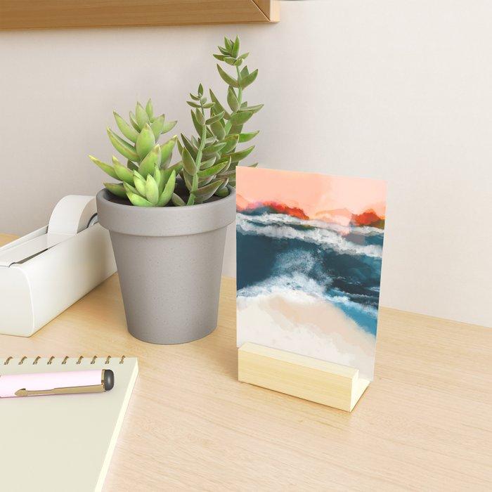 water world Mini Art Print