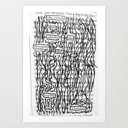 Hoping was a Burden Art Print