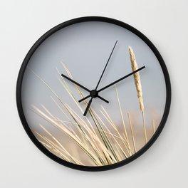 August Sea Oats Wall Clock