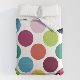 Colorful Dots Comforters