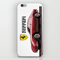 ferrari iPhone & iPod Skins featuring Ferrari 275  by kartalpaf