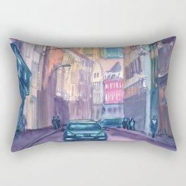 Antwerp Street magic Rectangular Pillow
