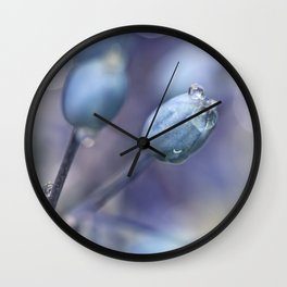 Underneath A Blue & Cloudless Sky ... Wall Clock