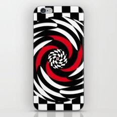Checkered Meditation iPhone & iPod Skin