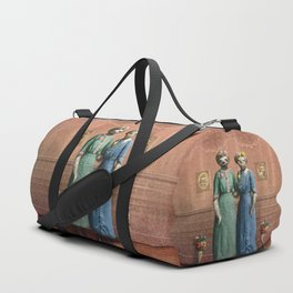 The Sloth Sisters at Home Duffle Bag