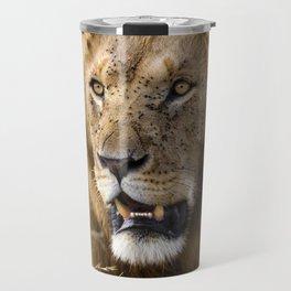 Lion, Masai Mara Travel Mug